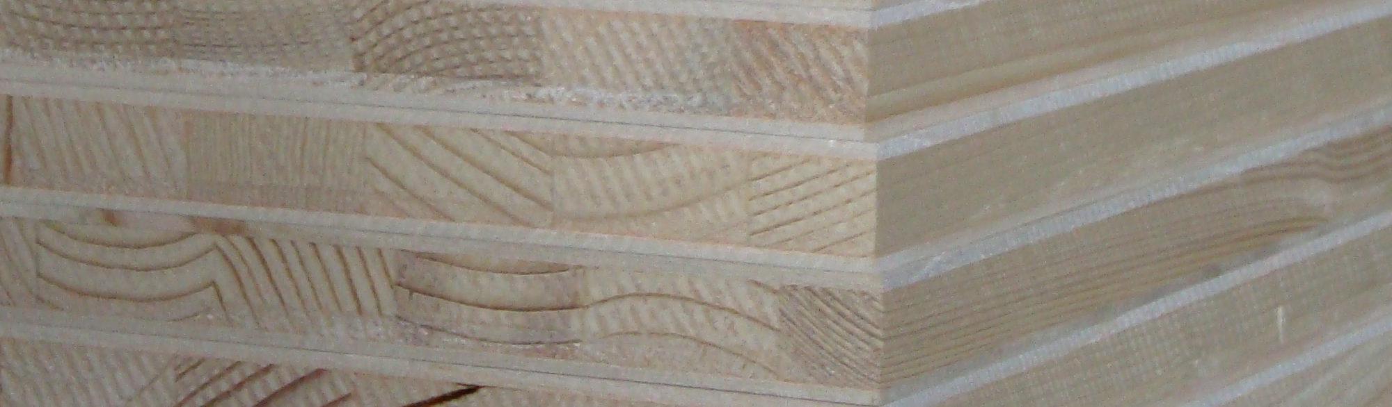 3-ply spruce blockboard