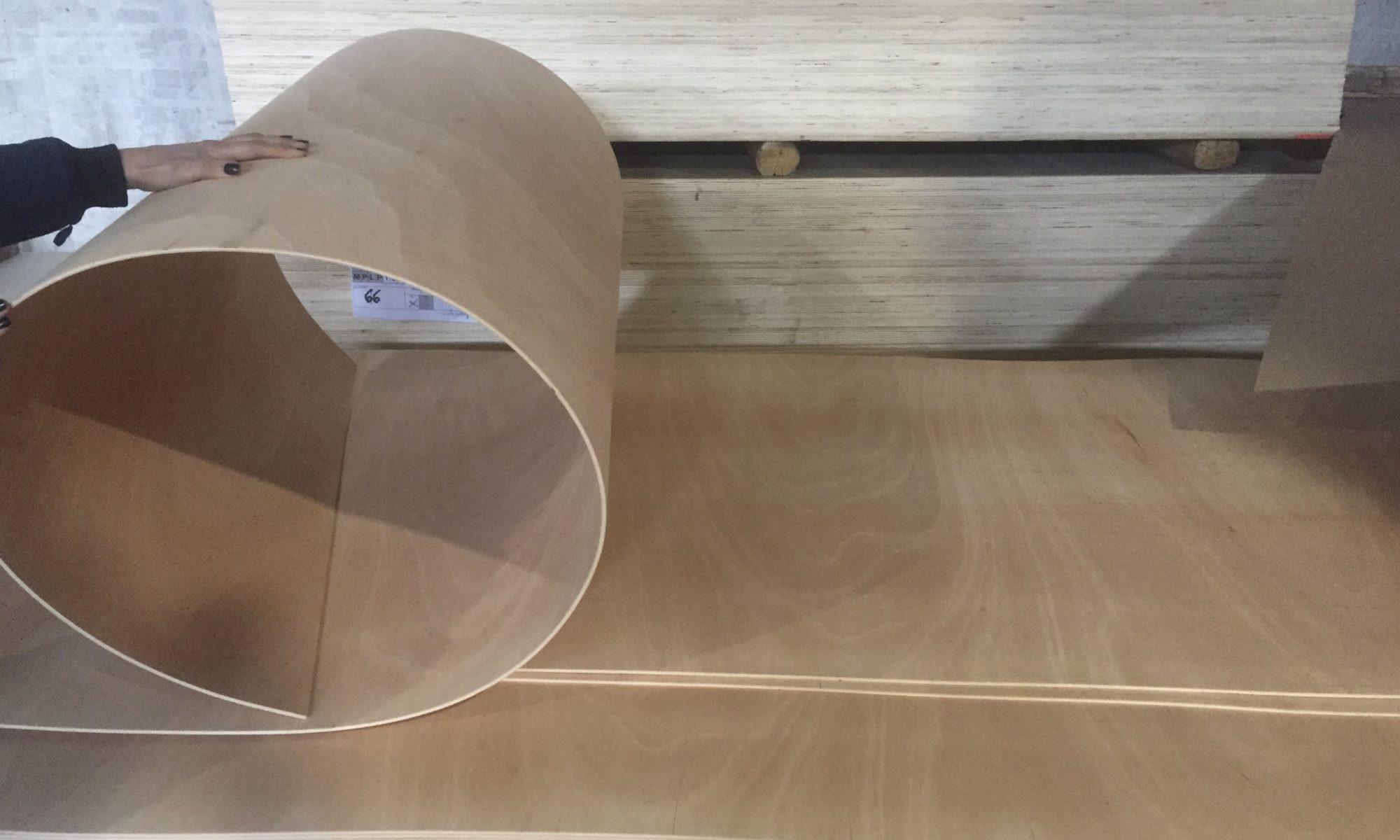 Multiflex bending plywood