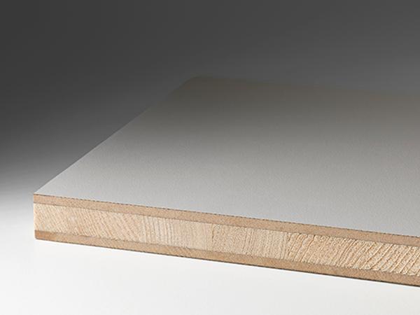 Blockboard + HDF (3-ply) + cHPL laminate