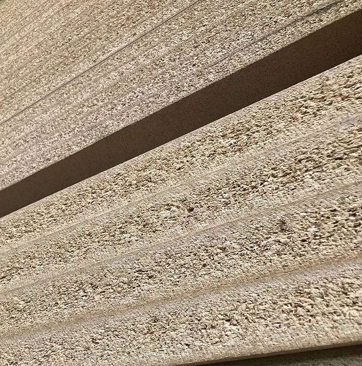 Lightweight particle board